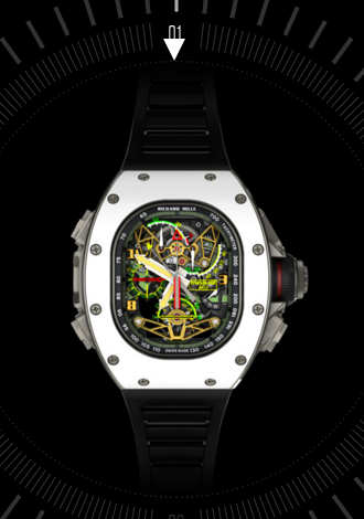 Richard Mille RM 50-02 ACJ Tourbillon Split Seconds Chronograph Replica Watch
