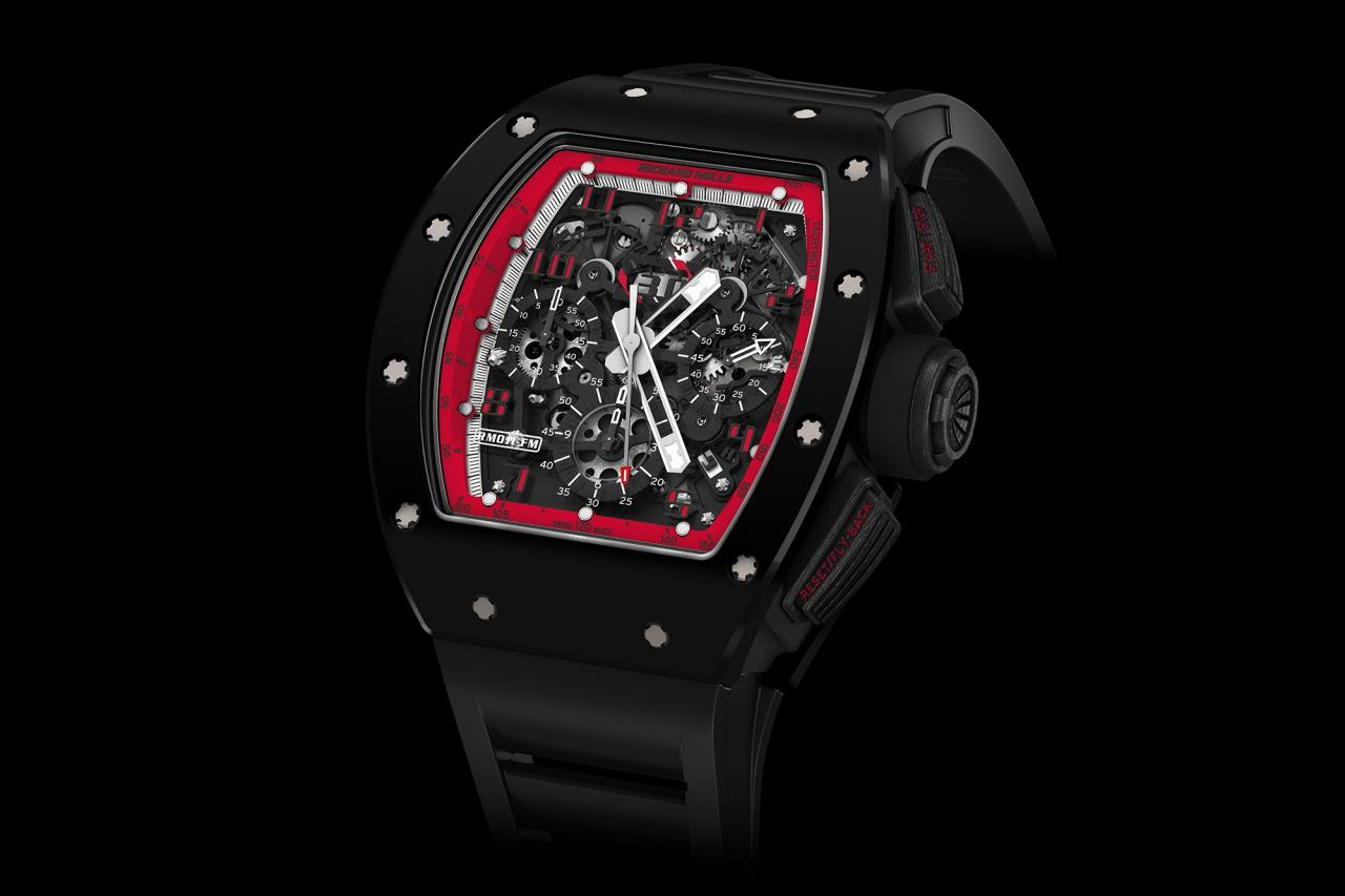 Richard Mille RM 011 Flyback Chronograph 'Midnight Fire'