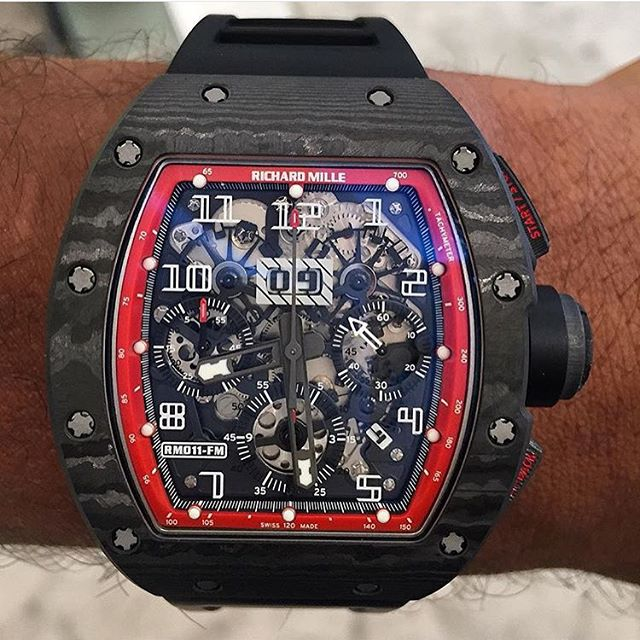 Richard Mille RM011 Felipe Massa Black Night NTPT