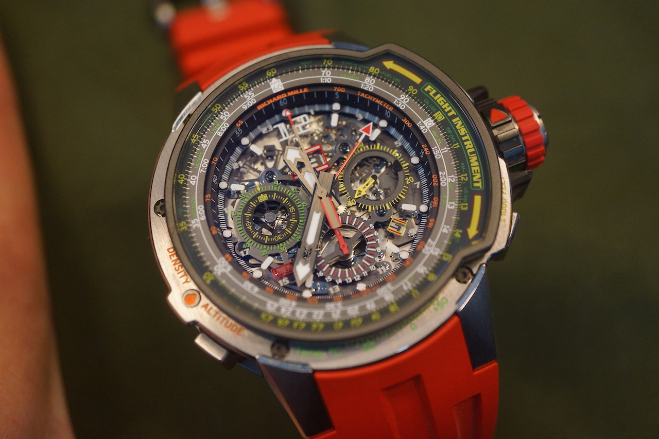 Richard Mille RM039 Aviation E6-B Flyback Chronograph