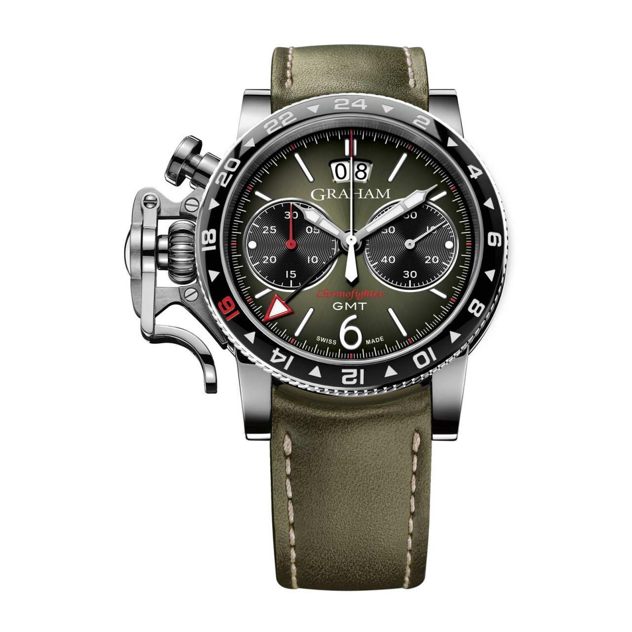 Unique piece Graham watches toronto Replica Chronofighter Vintage GMT