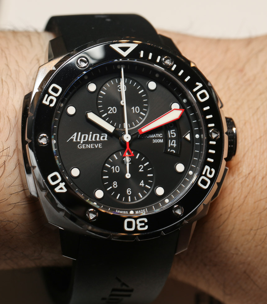 Alpina Extreme Diver 300 Chronograph Automatic Watch Hands-On Hands-On