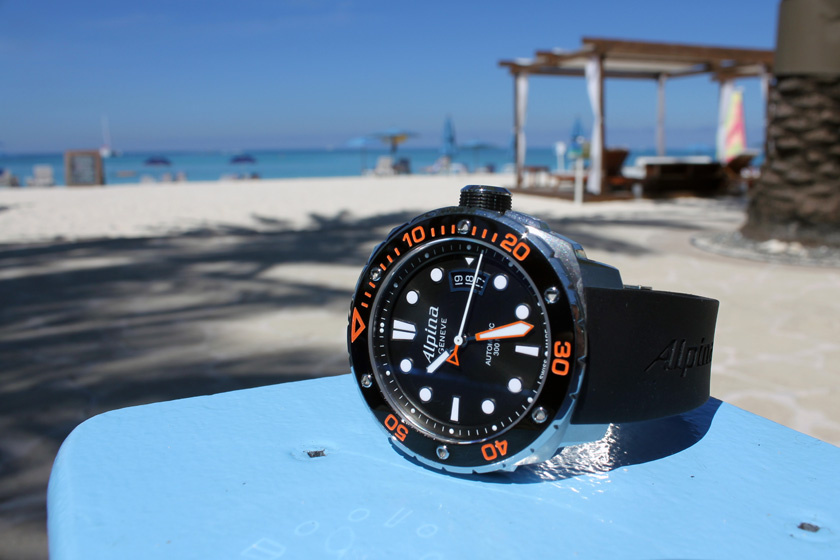 William Baldwin Celebrates 130 Years Of Alpina Watches In The Cayman Islands Hands-On
