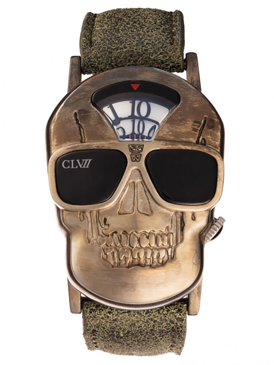 CLVII Skull watch