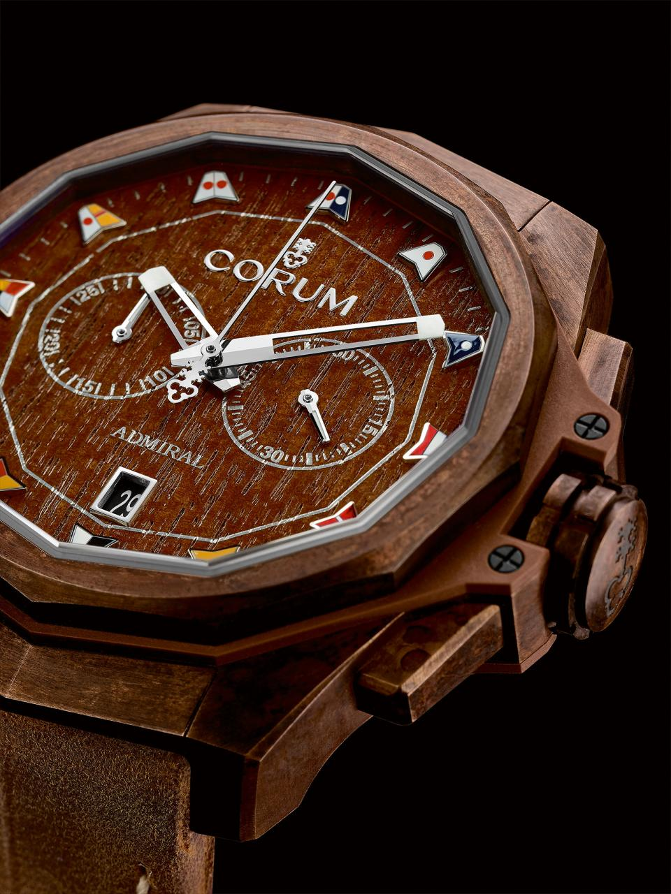 Corum Admiral AC-One 45 Chronograph Bronze 3