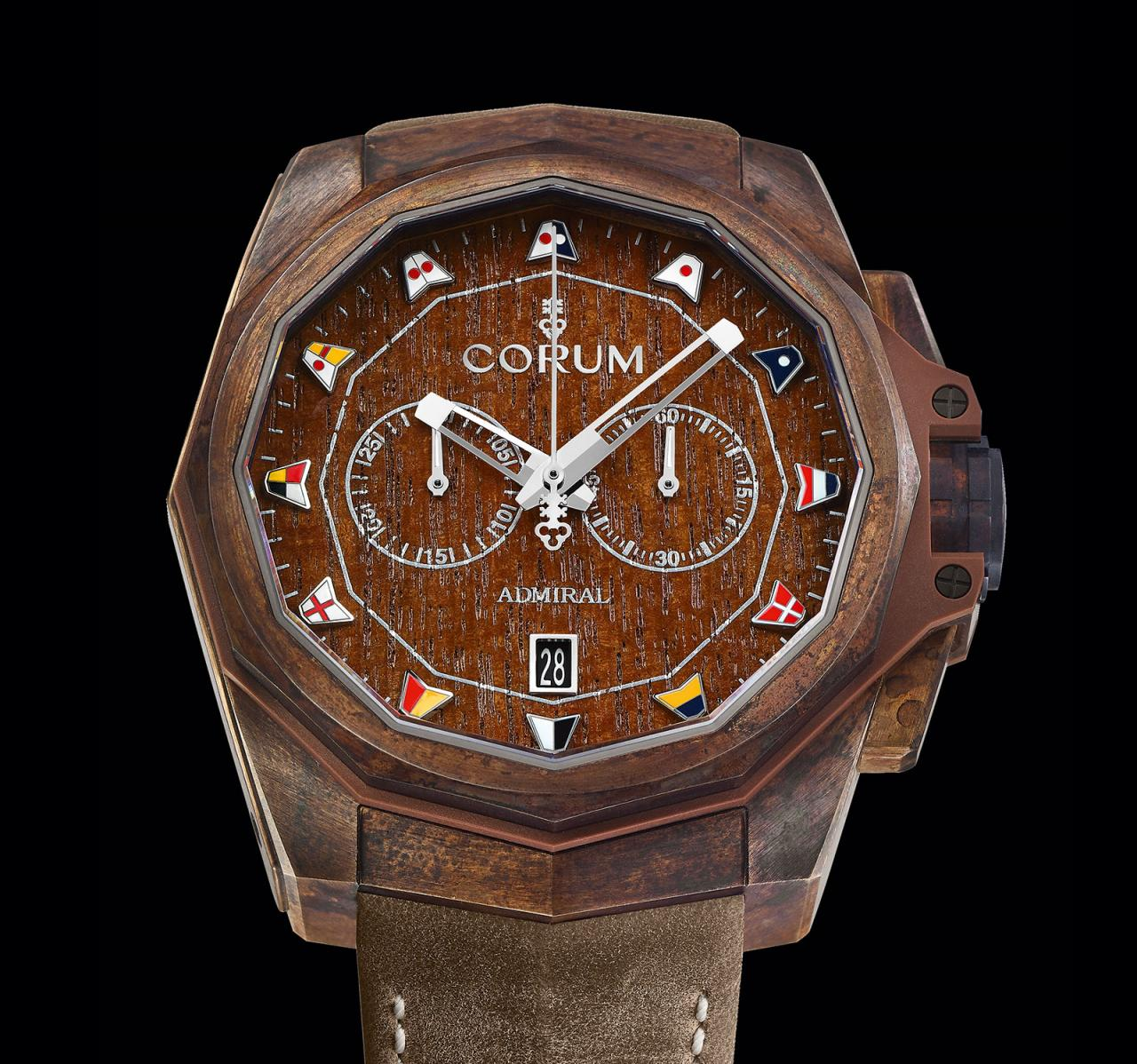 Corum Admiral AC-One 45 Chronograph Bronze 4