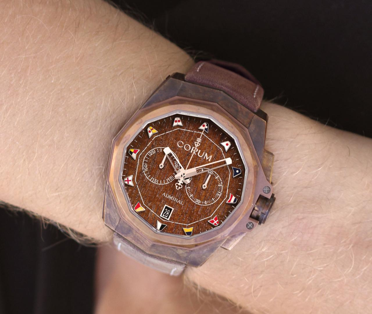 Corum Admiral AC-One 45 Chronograph Bronze 1